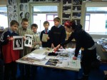 Making Prints in 4th. Class3