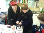 Making Prints in 4th. Class8