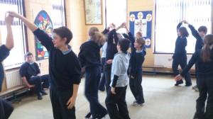 Sixth Class Irish Dancing