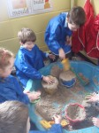 Aistear- Playtime in the Sand Area