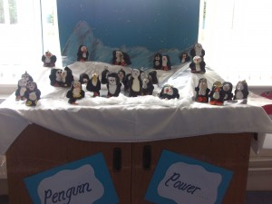 Clay penguins