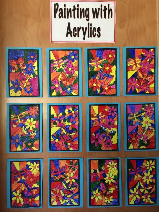 Acrylics b1