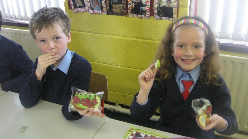 Food Dudes In 1st Class Crossmahon National School