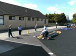 Fun with Fifth Class doing our OBSTACLE Course